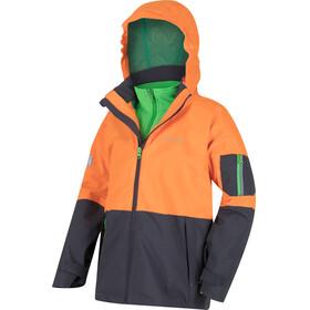Regatta Hydrate II 3in1 Jacket Kids Persimm/Seal Grey